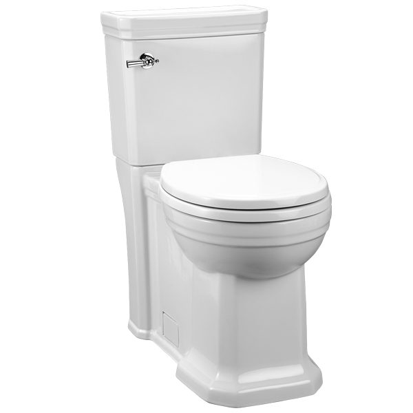Fitzgerald Two-Piece Round Front Toilet