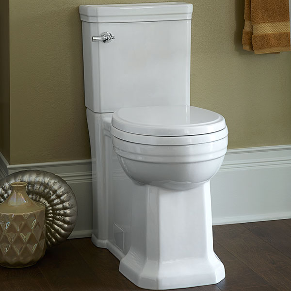 Round Toilet  Fitzgerald Twopiece Round Front Toilet. Narrow Depth Console Table. Freestanding Soaking Tub. Cabinet Door Styles. Accent Table. Santa Cecilia Granite Countertops. Custom Vanity. Pool Towel Storage. How To Arrange Living Room Furniture With Fireplace And Tv