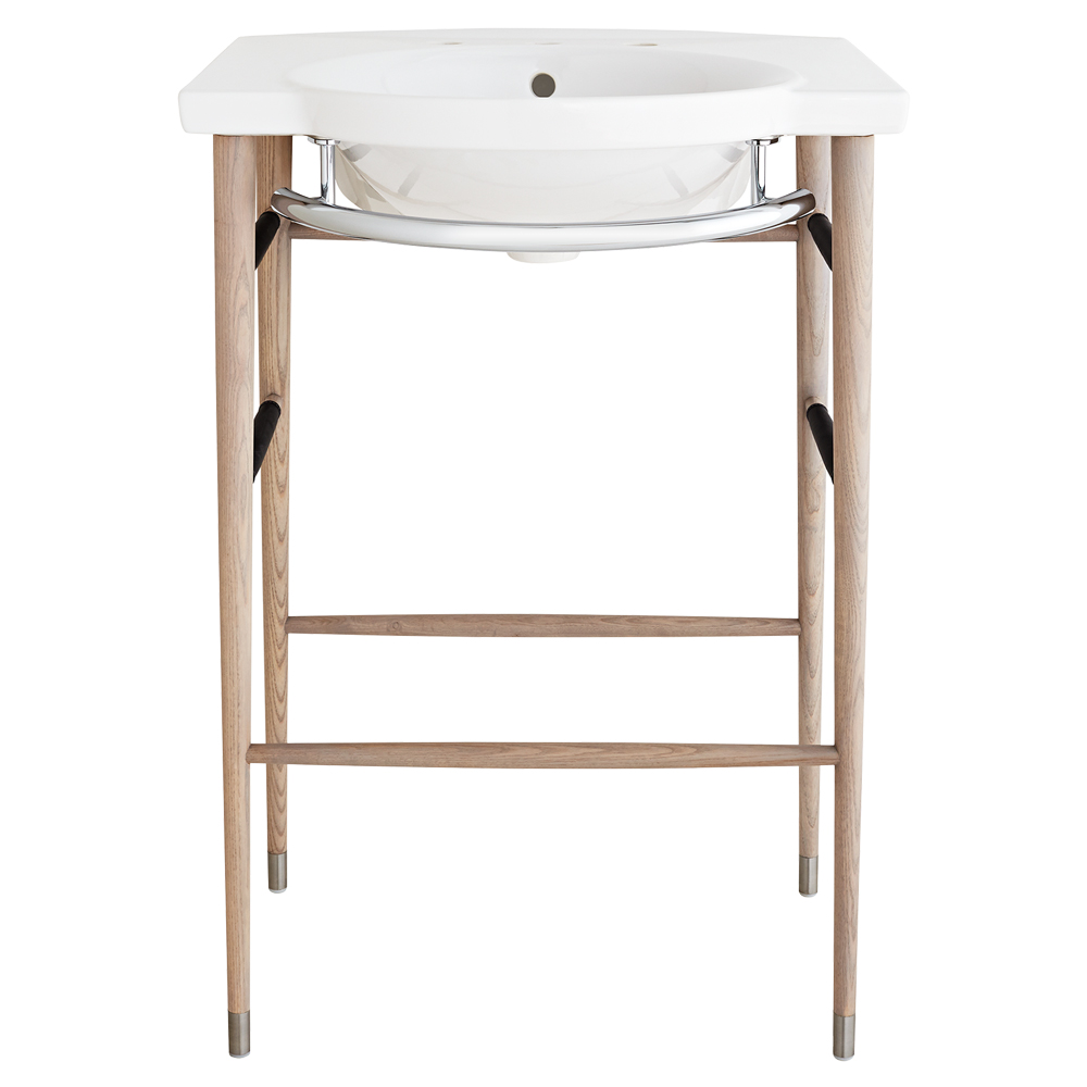 Lowell 26 Quot Wood Console Bathroom Sink By Dxv