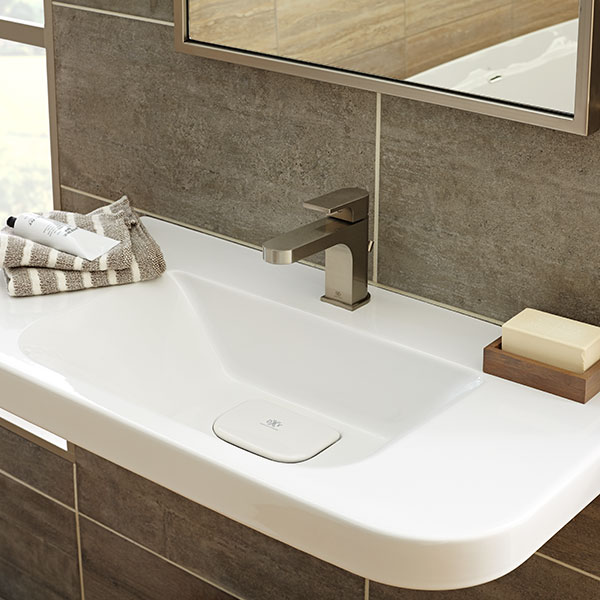 Bathroom Sinks - Lyndon 33 Inch Wall-Hung Trough Bathroom Sink by DXV