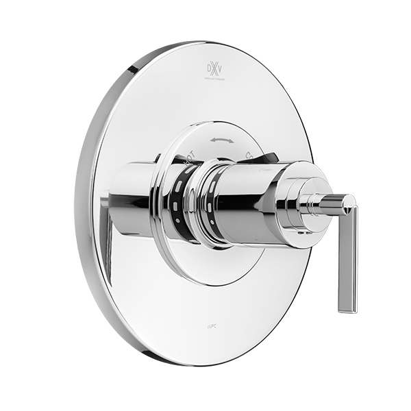 Percy 3/4 Inch or 1/2 Inch Thermostatic Valve Trim with Lever Handle
