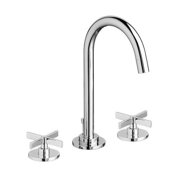 Percy Widespread Bathroom Faucet with Cross Handles. Widespread Bathroom Faucets  Percy Lavatory Faucet with Cross