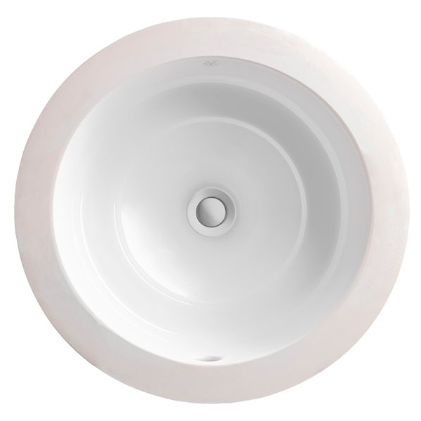 Undermount Bathroom Sink - Pop Oval Under Counter Lavatory from DXV