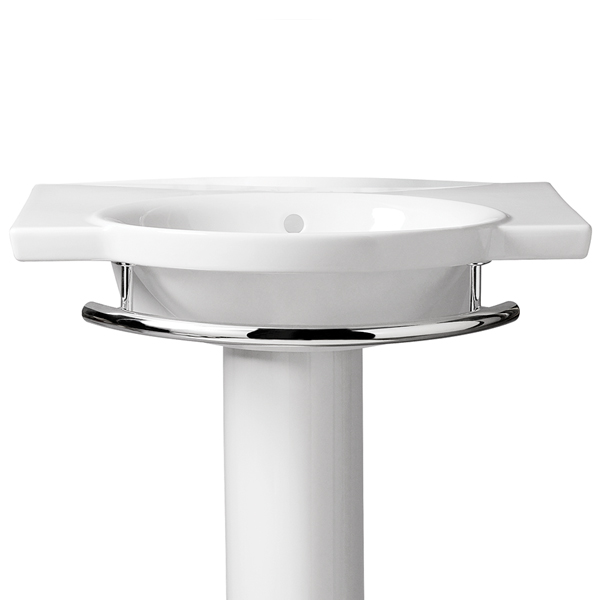 Kohler Pedestal Sink Towel Bar Befon For