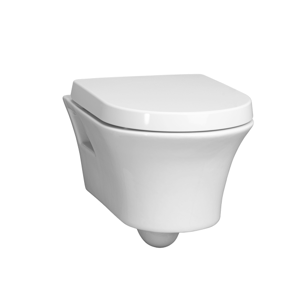 Seagram Wall-Hung Dual Flush Toilet