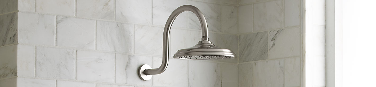 Shower Heads Traditional 8 Inch Rain Can Showerhead From DXV