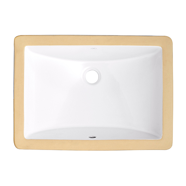 Webster Under Counter 18 Inch by 12 Inch Bathroom Sink