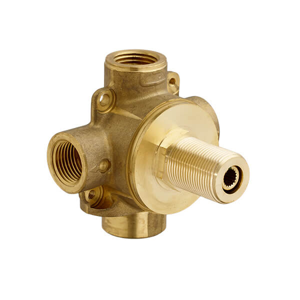 4/3 Port Diverter Rough Valve