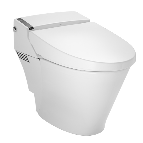 DXV AT200 Integrated Bidet Smart Toilet- Canvas White