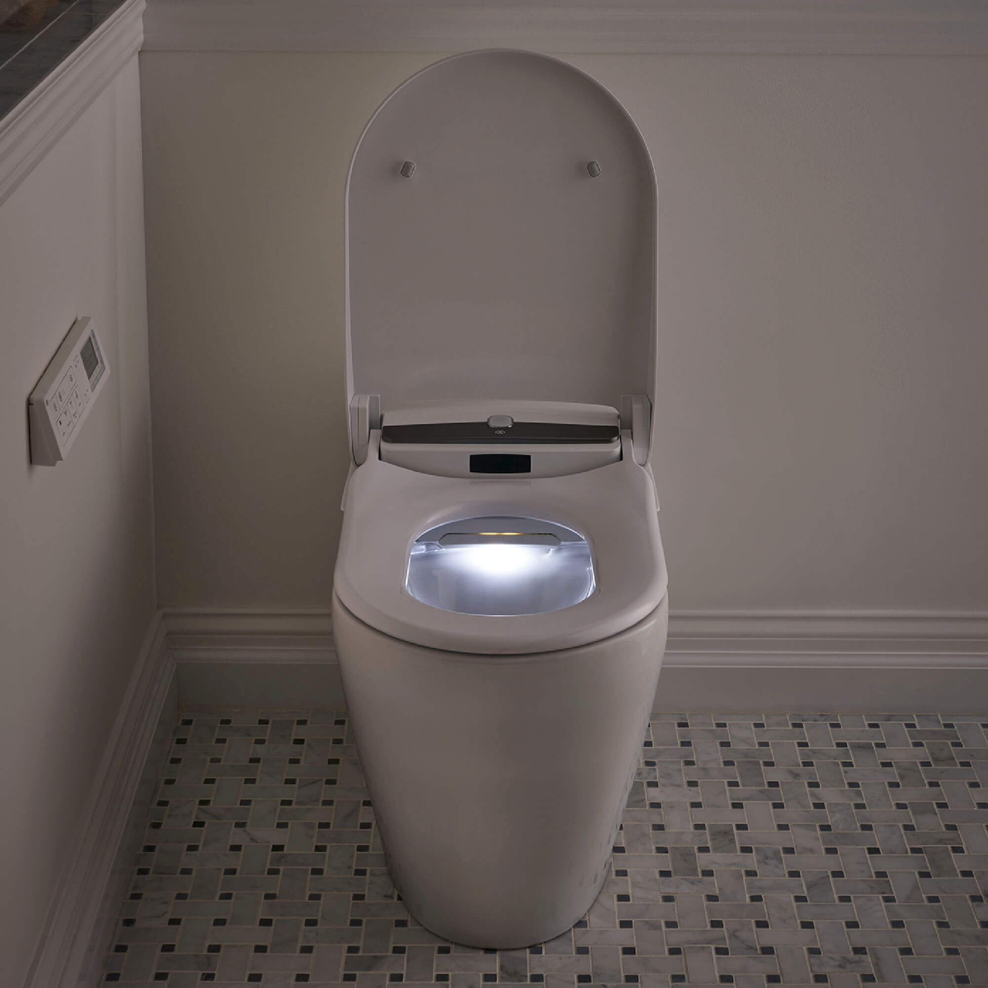 AT200 LS SpaLet Bidet Toilet with Night Light