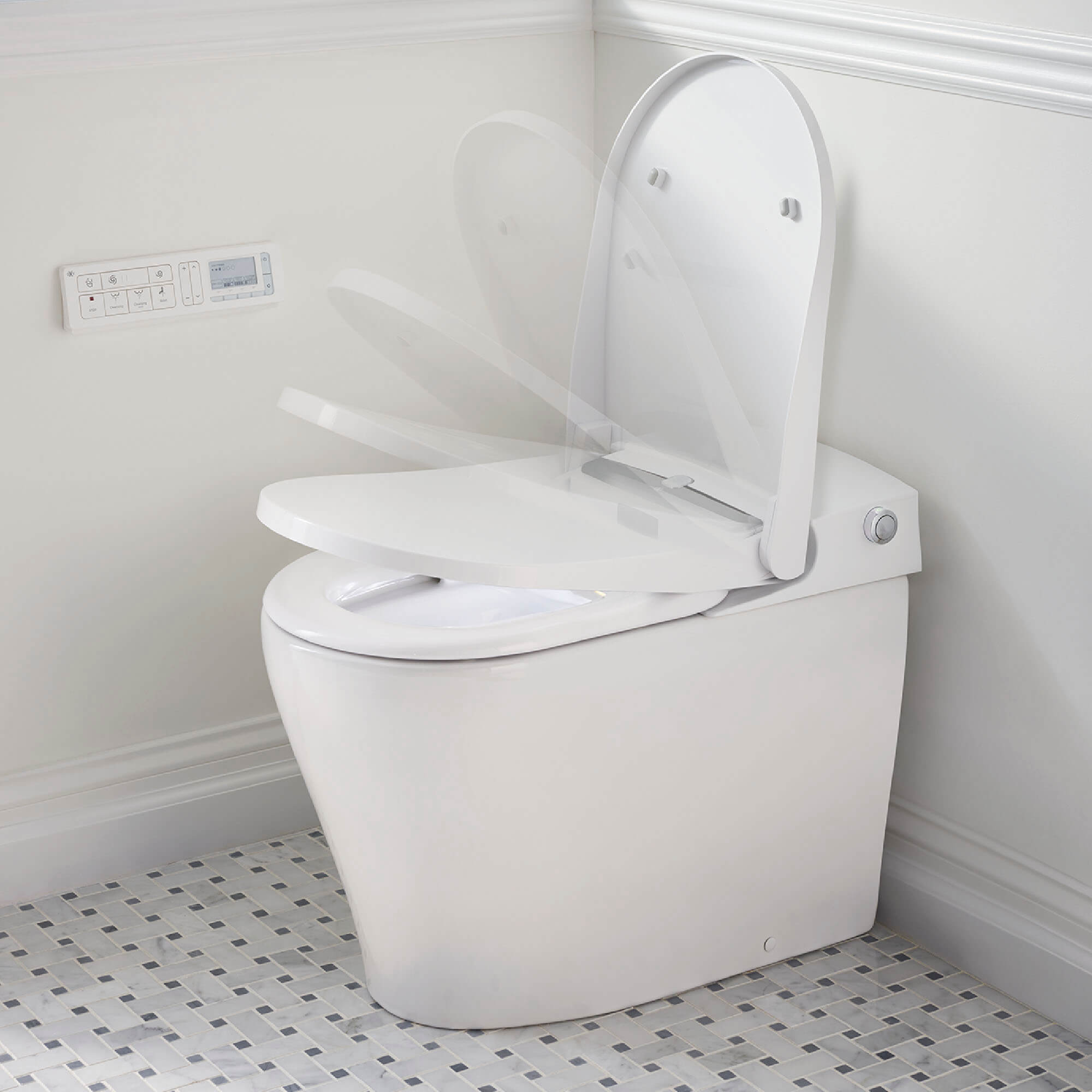 AT200 LS SpaLet Bidet Toilet with Automatic Seat