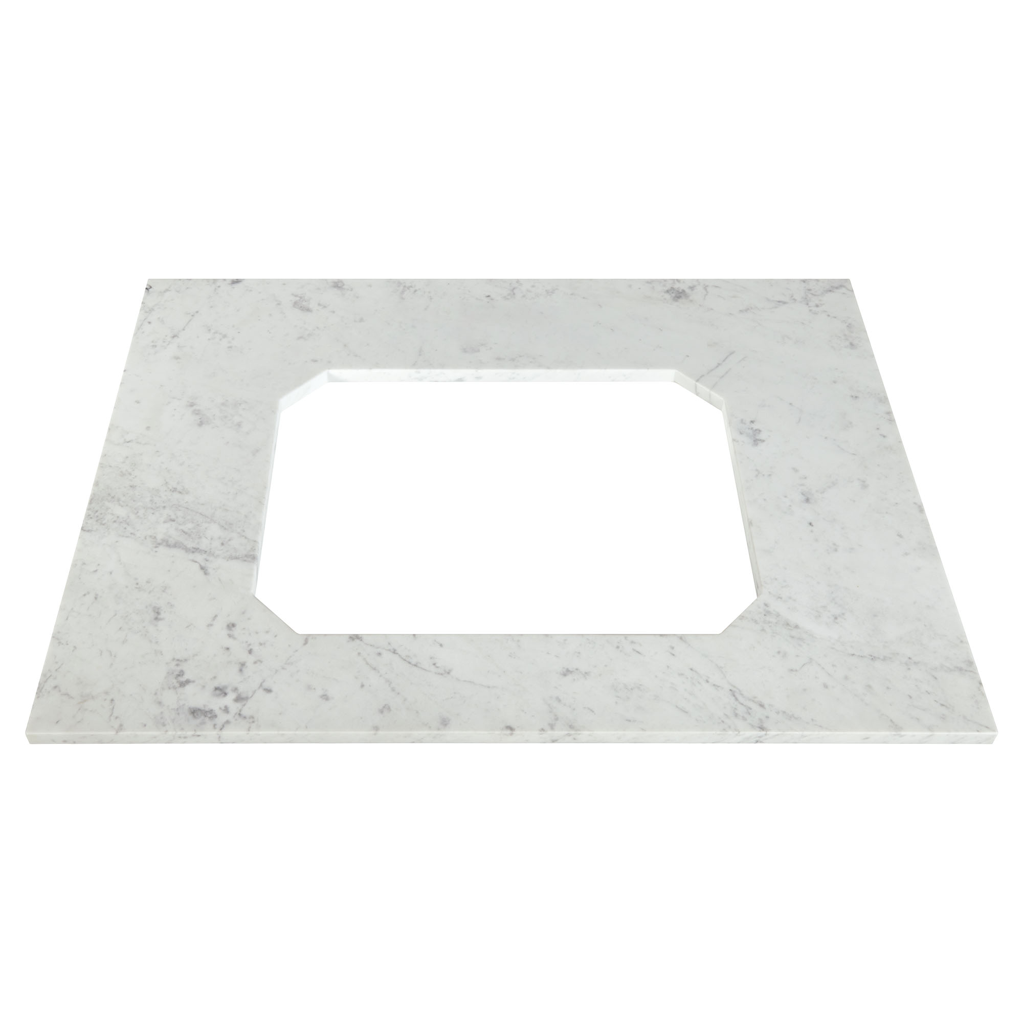 Belshire 30in Carrara Marble Vanity - No hole