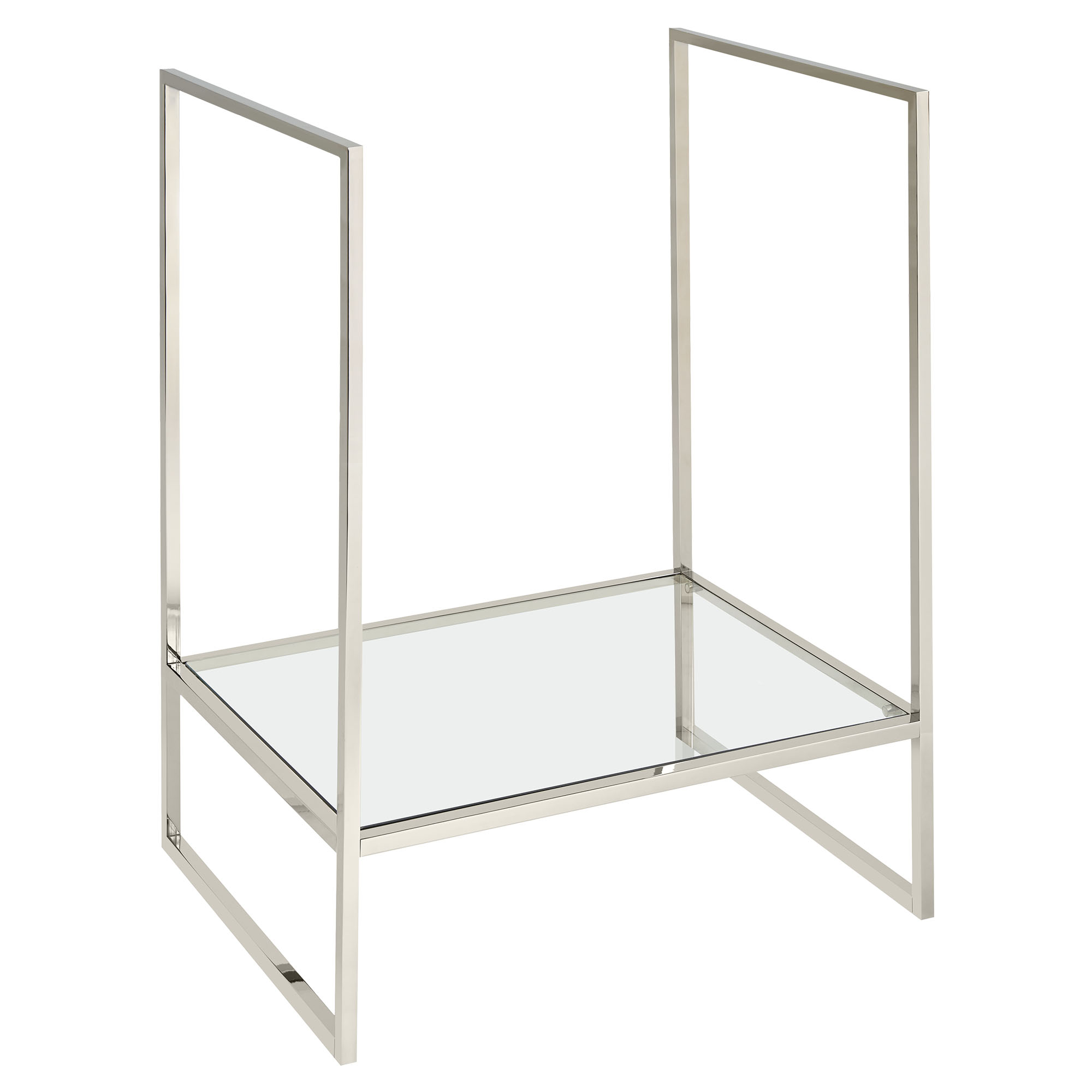 Belshire Console Frame With Glass Shelf