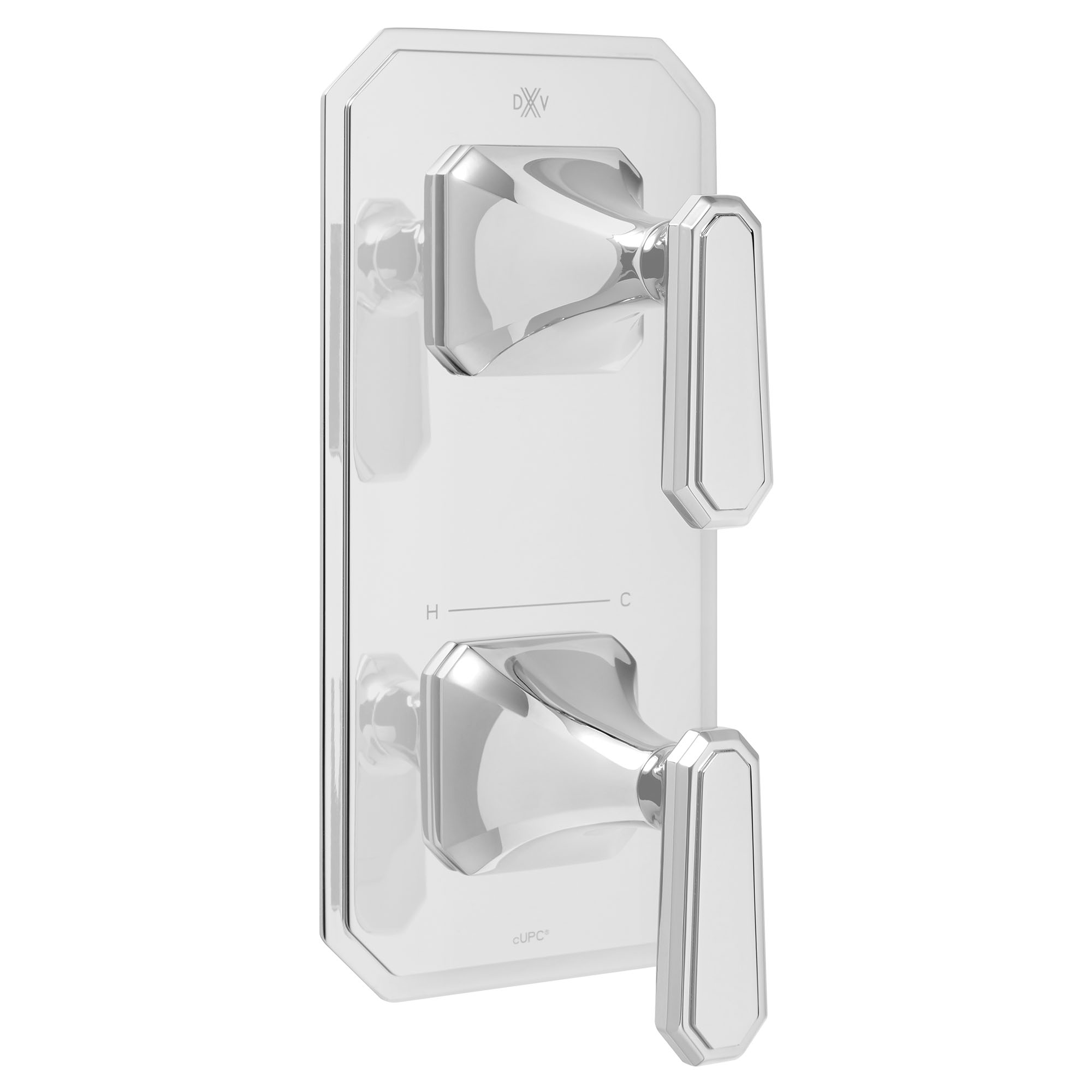 Belshire Two-Handle Thermostatic Valve Trim with Lever Handles