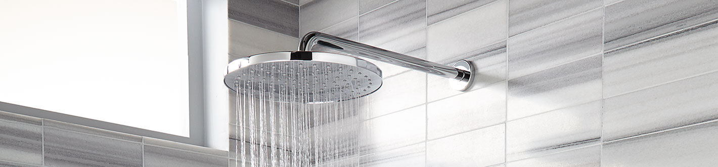 DXV Contemporary 10 Inch Round Showerhead Banner