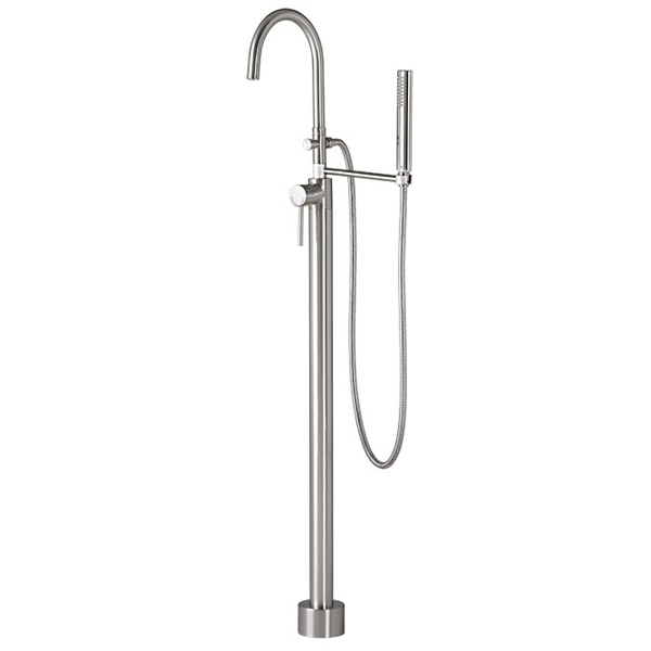 Contemporary Floor Mount Bathtub Faucet
