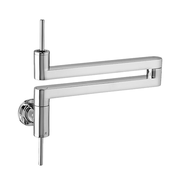 Elkay LKAV4091CR at J & J Wholesale Contemporary Wall Mount jjplumbingnc.com Elkay Faucets Kitchen faucets Wall mount v1345.htm