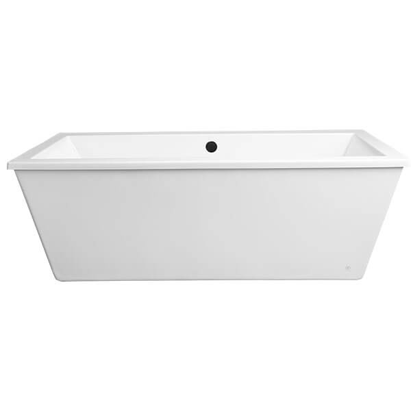 Cossu Freestanding Soaking Tub with Deck