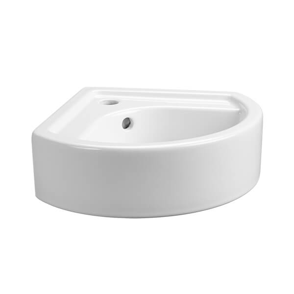 Cossu Small Corner Wall-Hung Bathroom Sink