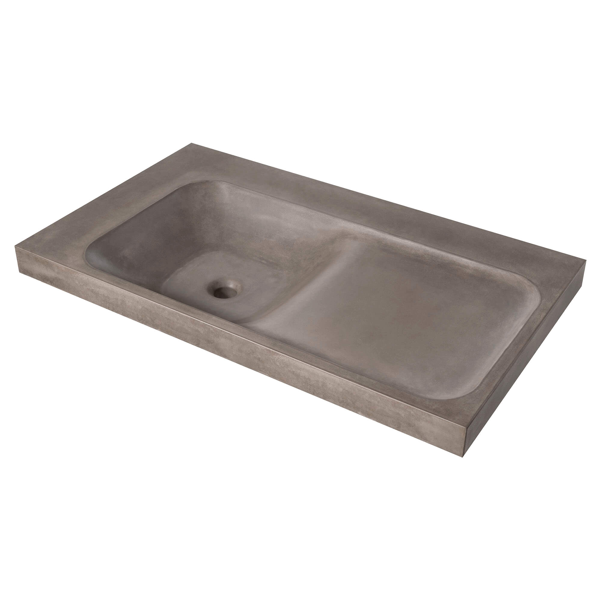 DXV Modulus 36-inch Concrete Bathroom Sink