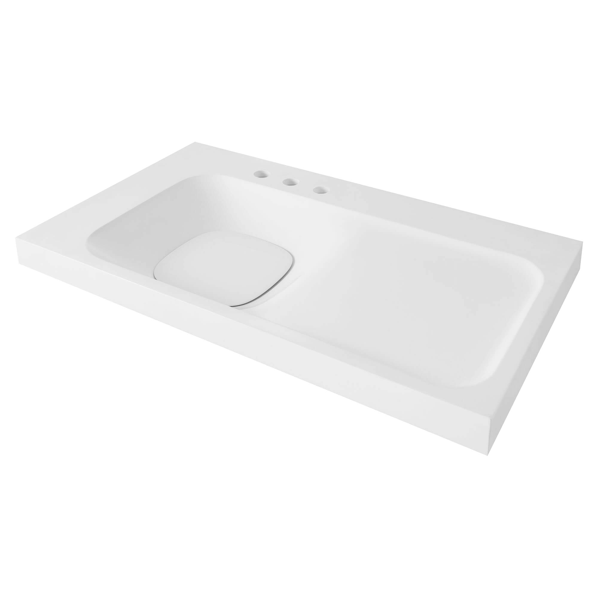 DXV Modulus 36-inch Three-Hole Bathroom Sink