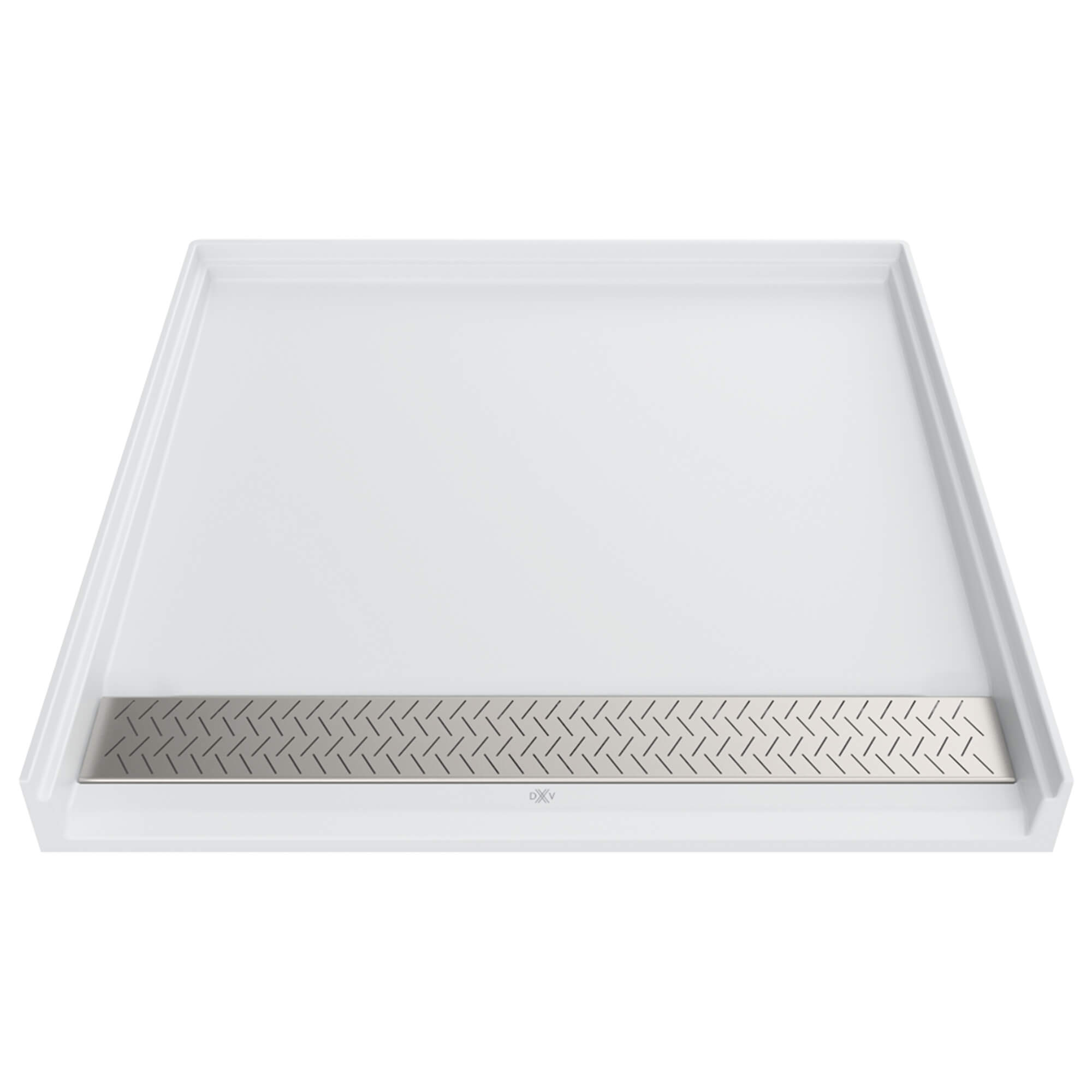 DXV Modulus 38x38-inch ADA Solid Surface Shower Base