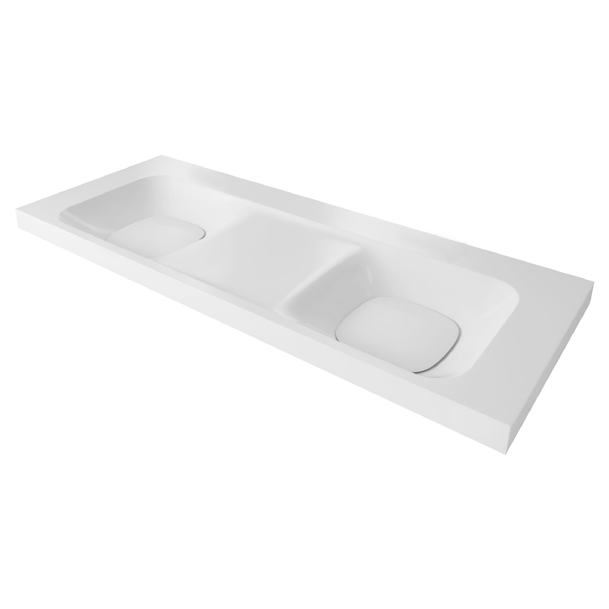 DXV Modulus 55-inch Double Bathroom Sink