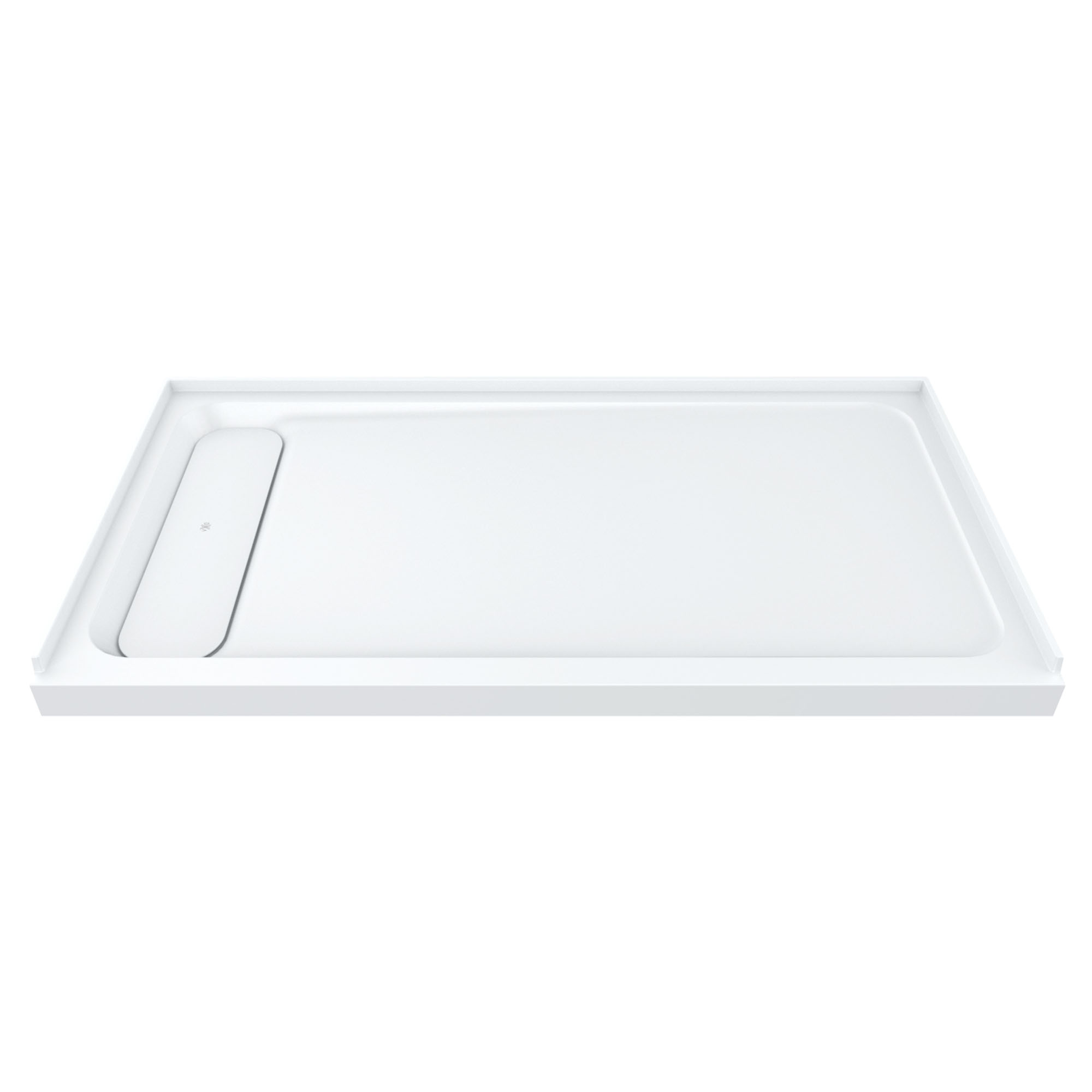 "DXV Modulus 60"" x 30"" Solid Surface Shower Base – Left Drain"