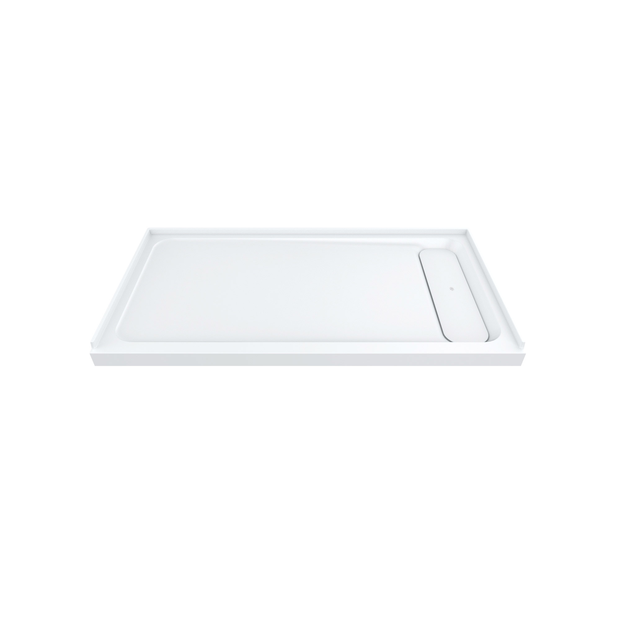 "DXV Modulus 60"" x 32"" Solid Surface Shower Base – Right Drain"