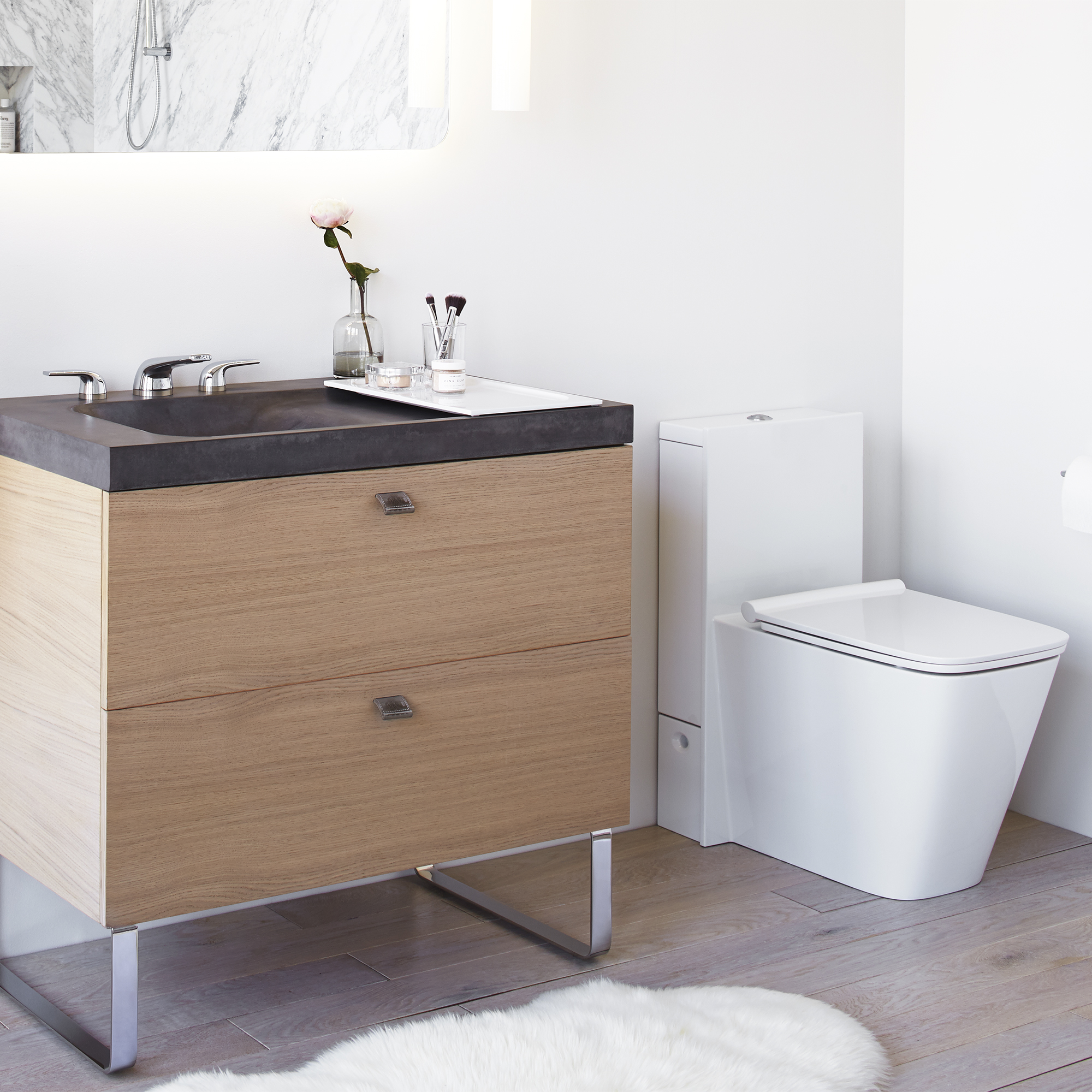 DXV Modulus Monolith One-Piece Elongated Toilet