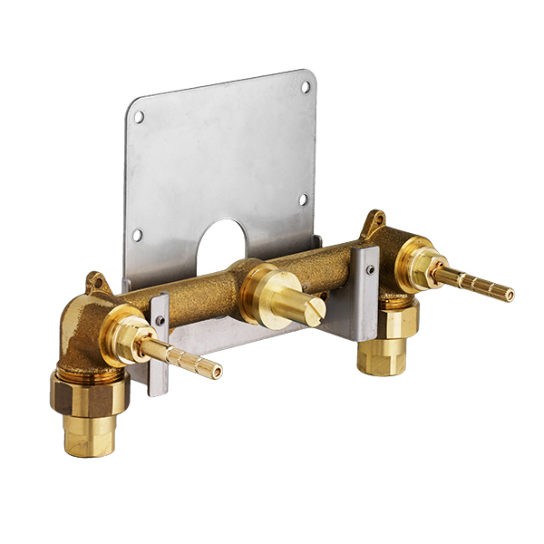 Dual Control Wall-Mounted Bathroom Faucet Rough Valve