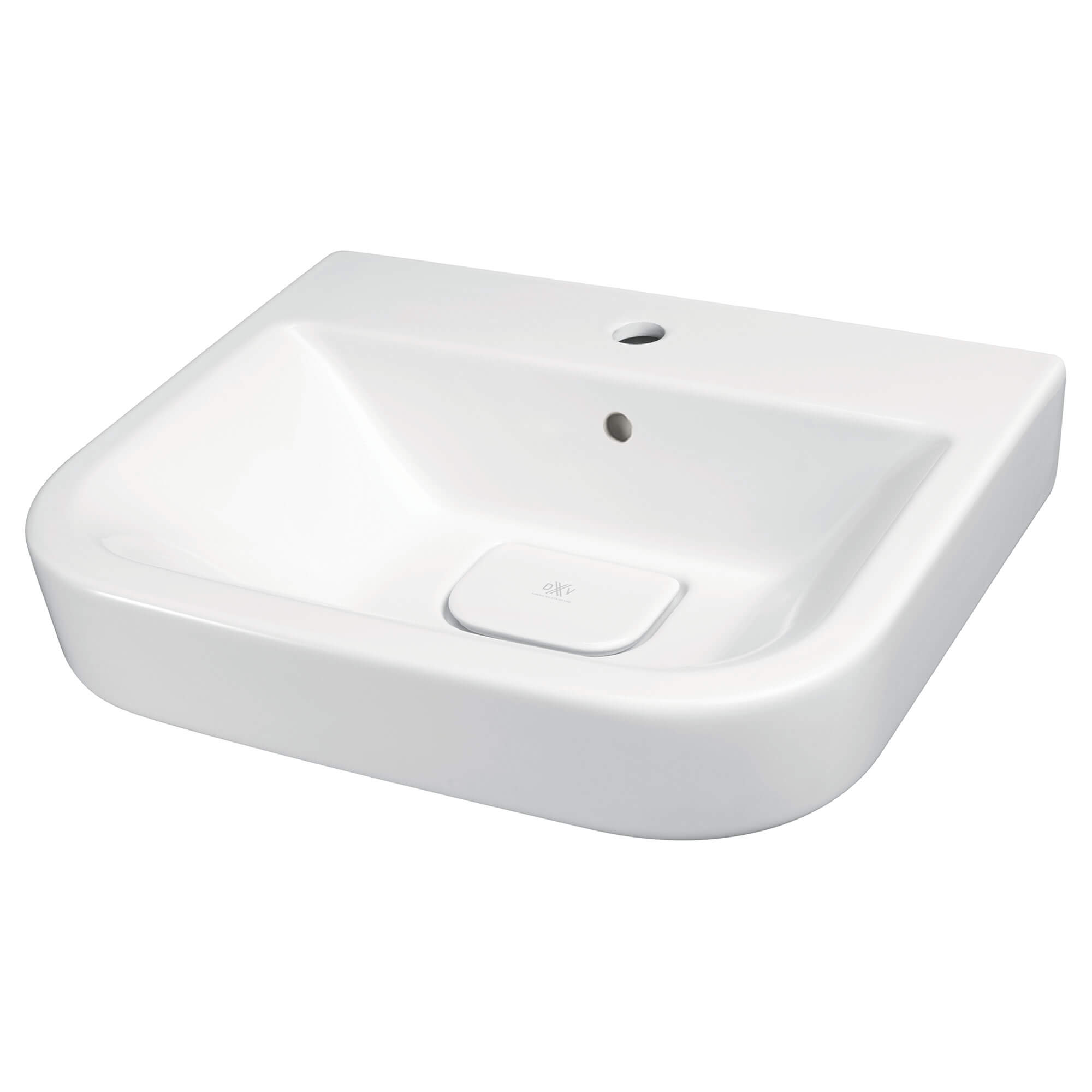 Equility 22-inch Single Hole Wall-Hung Bathroom Sink - Projects Model