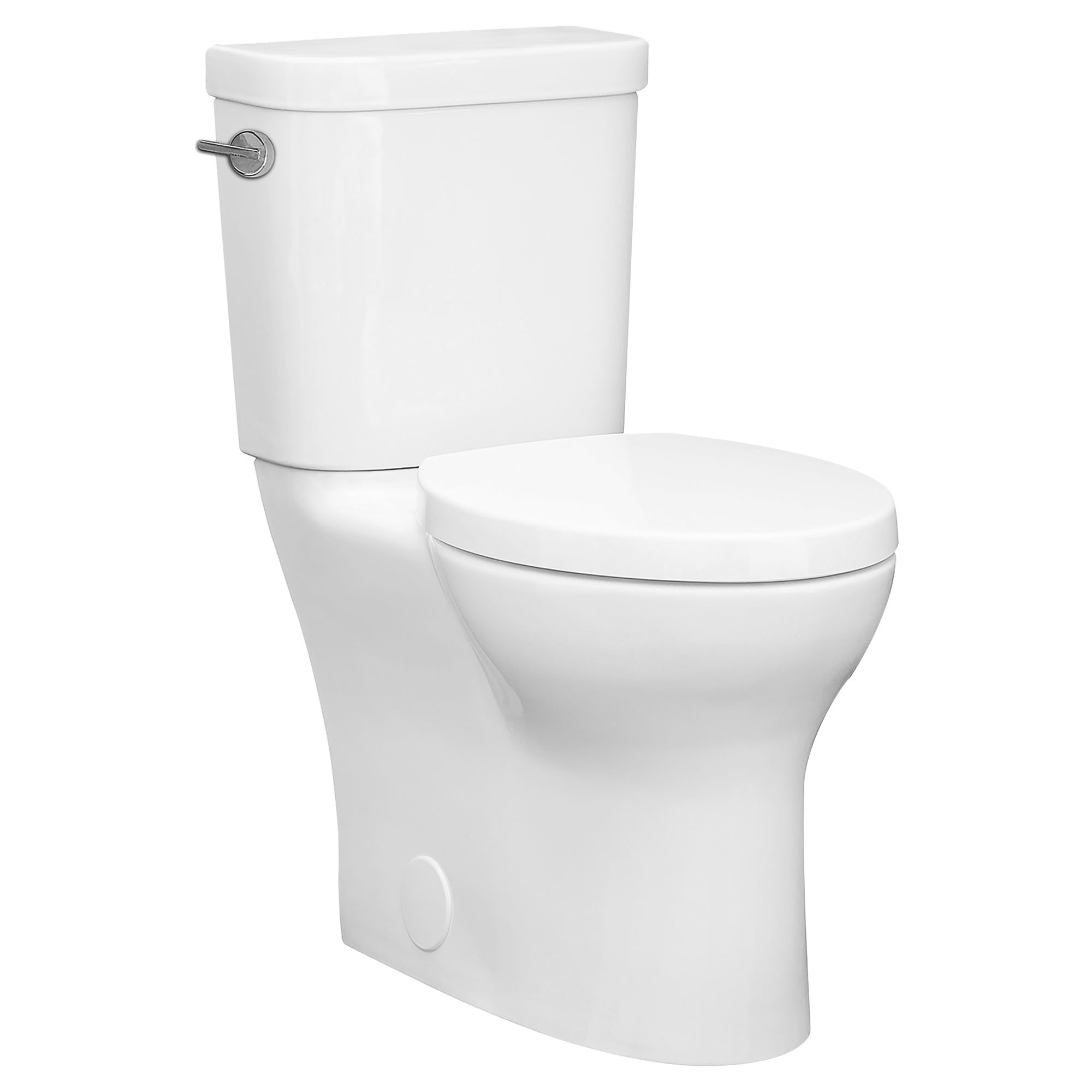 Equility Two-Piece Right Height Elongated Toilet with Left-Hand Trip Lever