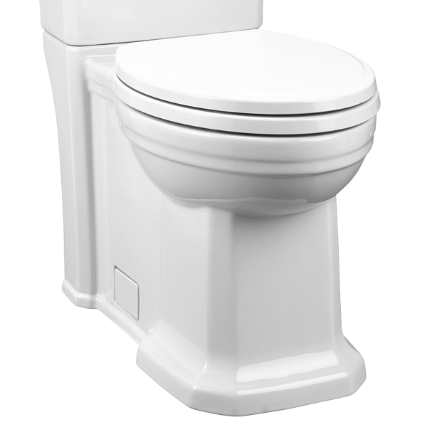 Elongated Toilet Fitzgerald Two Piece Elongated Toilet