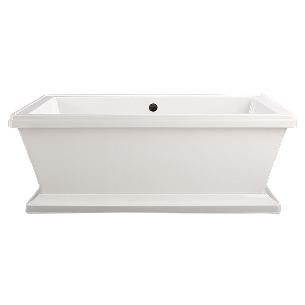 DXV Fitzgerald Freestanding Soaking Tub- Canvas White
