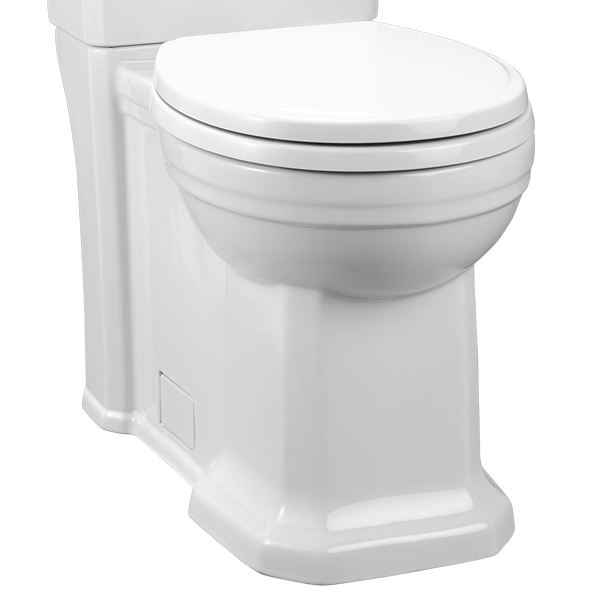 Round Toilet Fitzgerald Two Piece Round Front Toilet