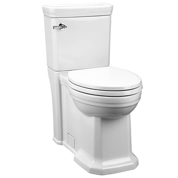 DXV Fitzgerald Two-Piece Elongated Toilet- Canvas White