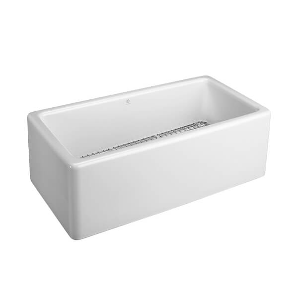 DXV Hillside 30 Inch Kitchen Sink- Canvas White