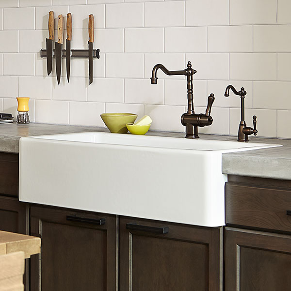 Kitchen Farm Sink - Hillside 36 inch kitchen sink from DXV