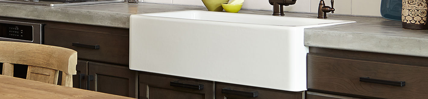 DXV Hillside 36 Inch Kitchen Sink Banner