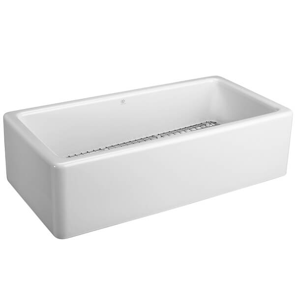 DXV Hillside 36 Inch Kitchen Sink- Canvas White