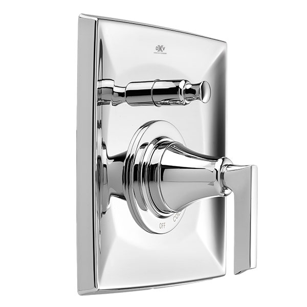DXV Keefe Pressure Balanced Tub/Shower Trim with Diverter - Polished Chrome