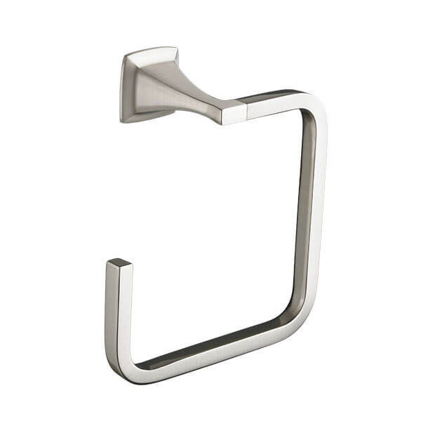 DXV Keefe Towel Ring- Brushed Nickel
