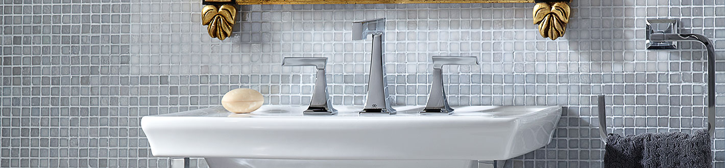 DXV Keefe Widespread Bathroom Faucet Banner