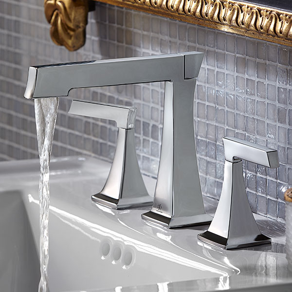 Widespread Bathroom Faucets- Keefe Lavatory Faucet from DXV