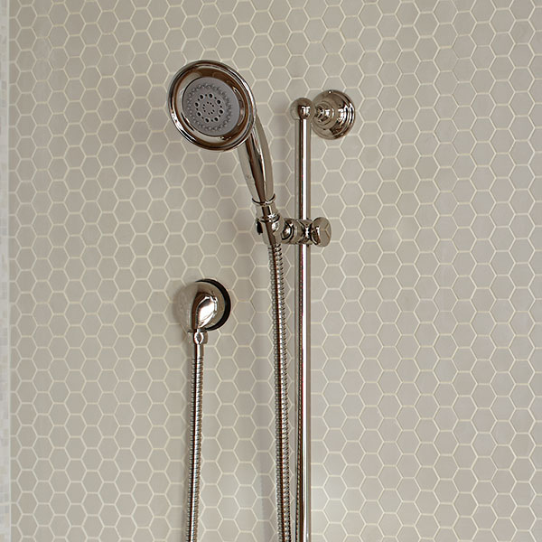 DXV Landfair Personal Shower Set with Hand Shower - Platinum Nickel