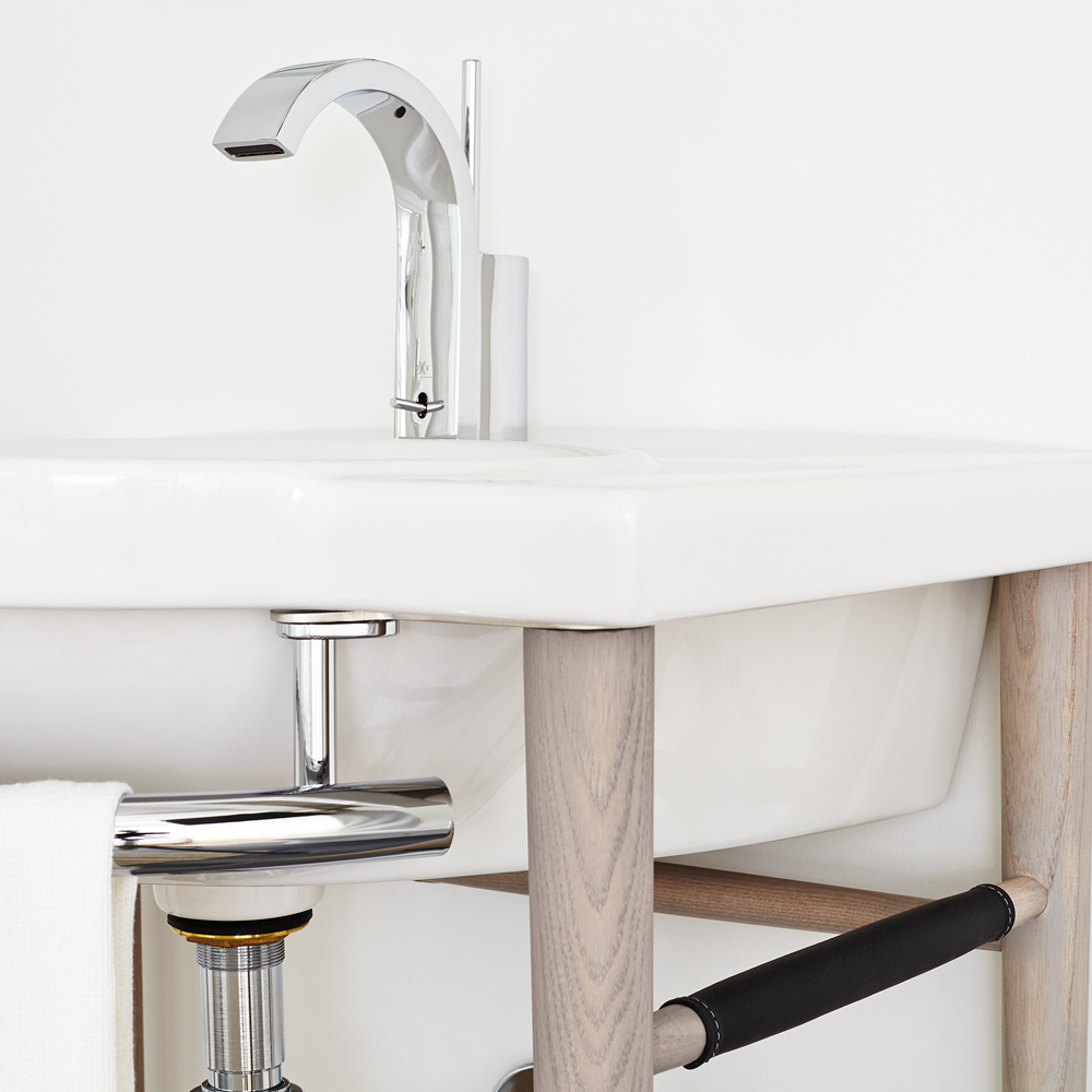 Lowell 26 Wood Console Bathroom Sink By Dxv