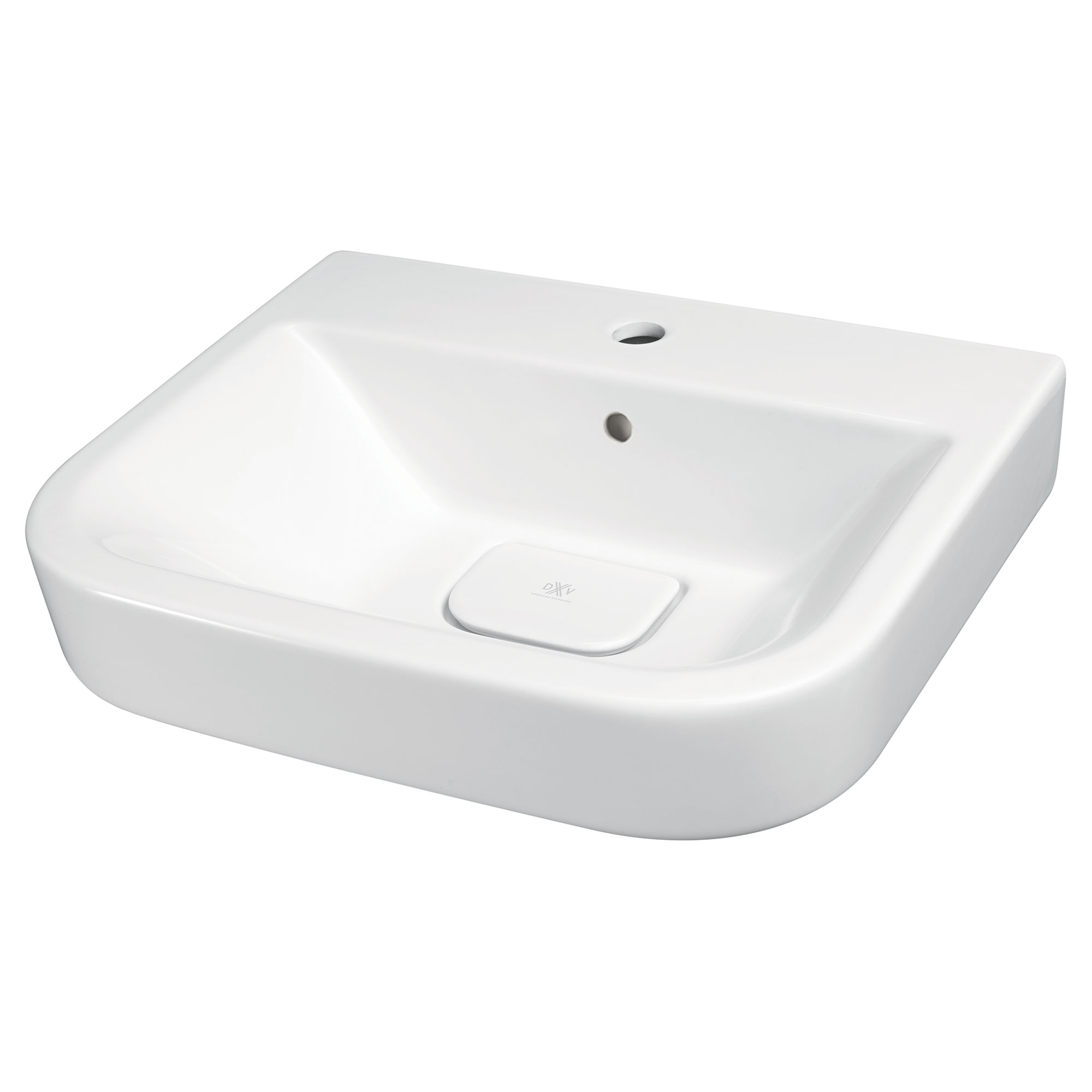 Lyndon 22-inch Single Hole Wall-Hung Bathroom Sink - Projects Model