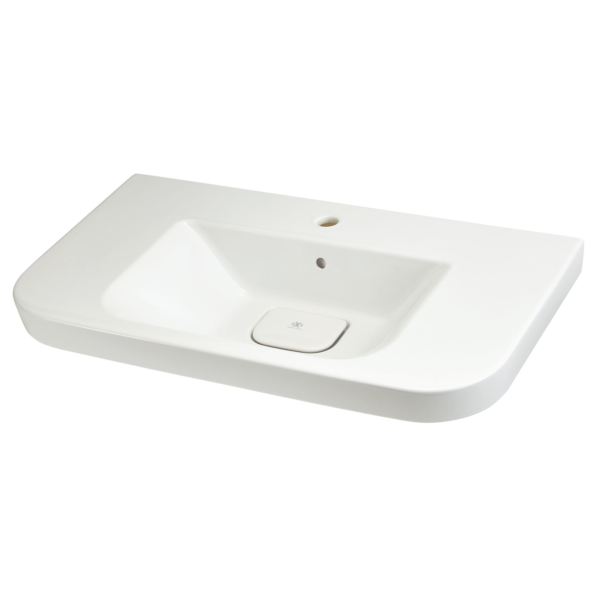 Lyndon 33-inch Single Hole Wall-Hung Bathroom Sink - Projects Model