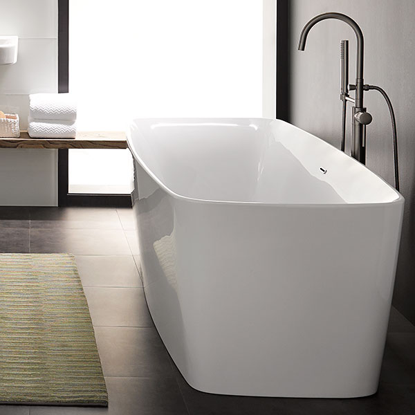 Lyndon Slim Freestanding Soaking Tub